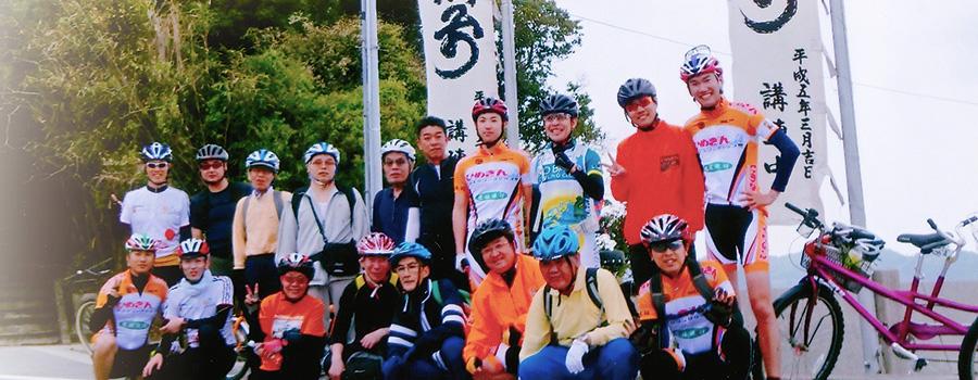 タンデム自転車NONちゃん倶楽部2014中島