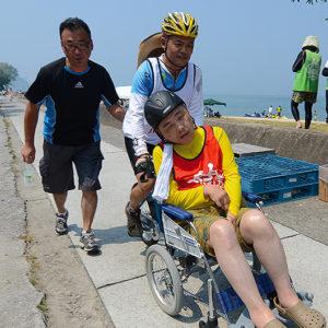 タンデム自転車NONちゃん倶楽部2015モンチッチ海岸