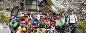 タンデム自転車NONちゃん倶楽部2016花見