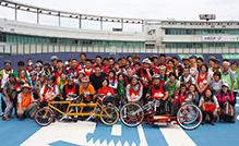 タンデム自転車NONちゃん倶楽部2016競輪