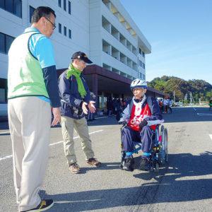 タンデム自転車NONちゃん倶楽部2016運転免許センター