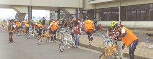タンデム自転車NONちゃん倶楽部2017島根県講習会