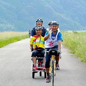 タンデム自転車NONちゃん倶楽部2019高知四万十市1日目
