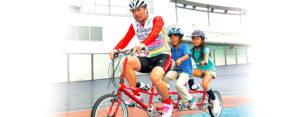タンデム自転車NONちゃん倶楽部2014免許センター