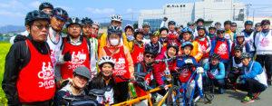 タンデム自転車NONちゃん倶楽部2017ゆうゆう祭り