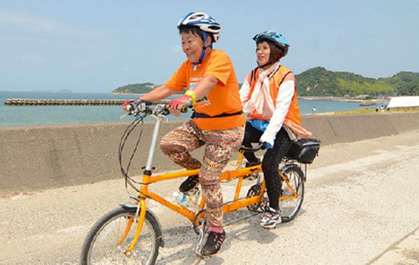 タンデム自転車NONちゃん倶楽部紹介