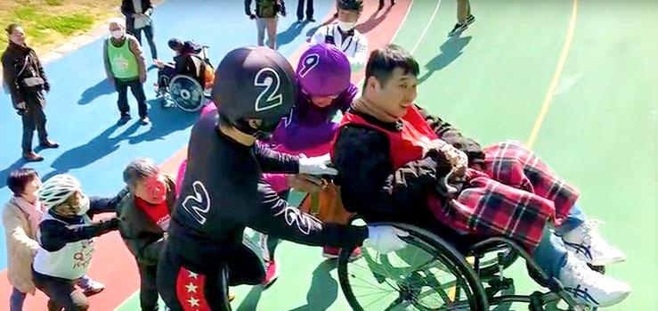 タンデム自転車NoNちゃん倶楽部香川県に初上陸!!